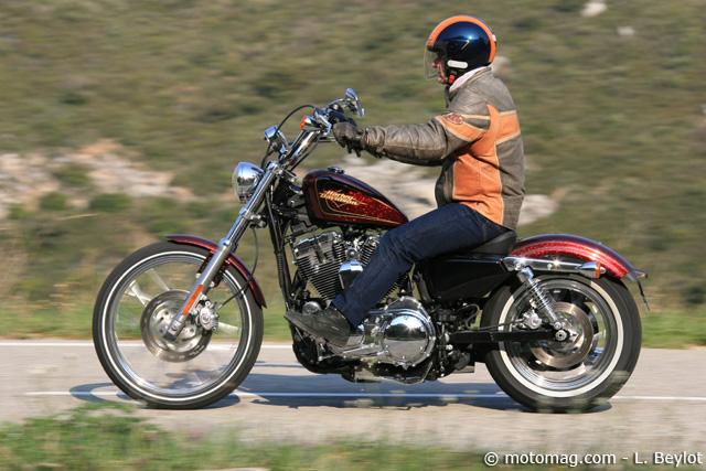 harley davidson sportster xl 1200 seventy two moto magazine leader de l actualit de la moto. Black Bedroom Furniture Sets. Home Design Ideas