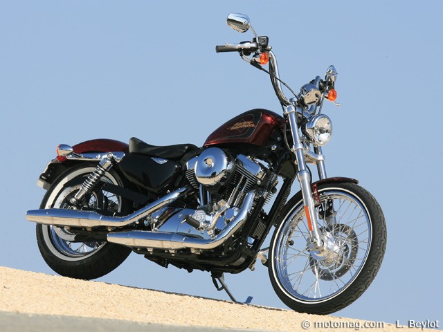 Essai Harley XL 1200 « 72 » : West Coast spirit