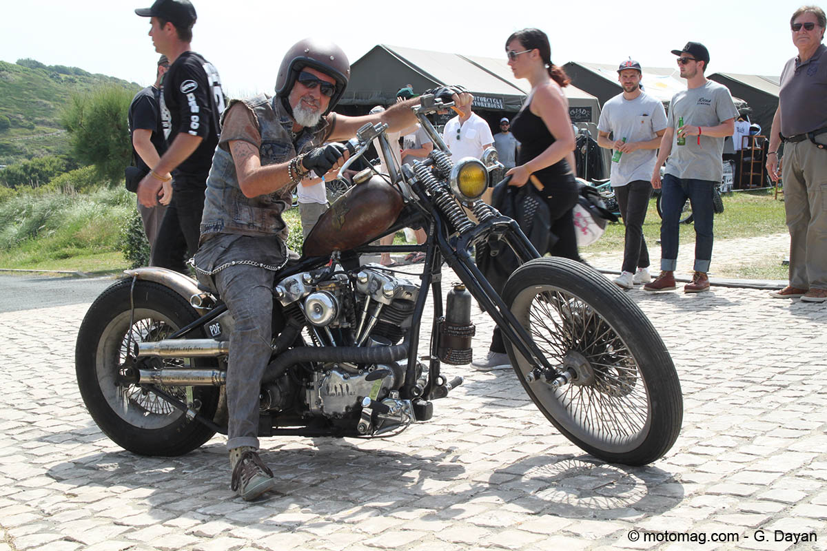 Wheels & Waves 2016 : Knucklehead style