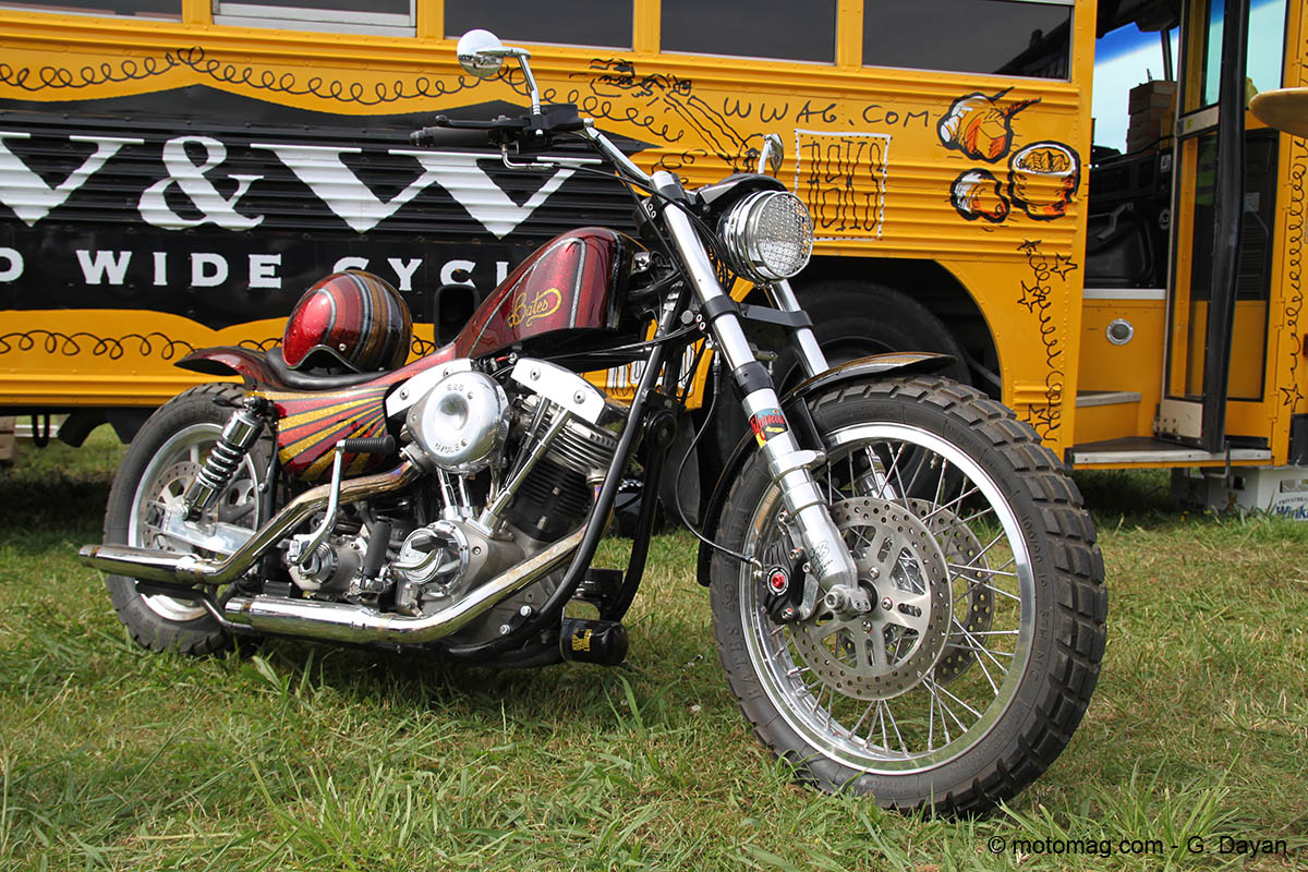 Wheels & Waves 2016 : Harley Shovel