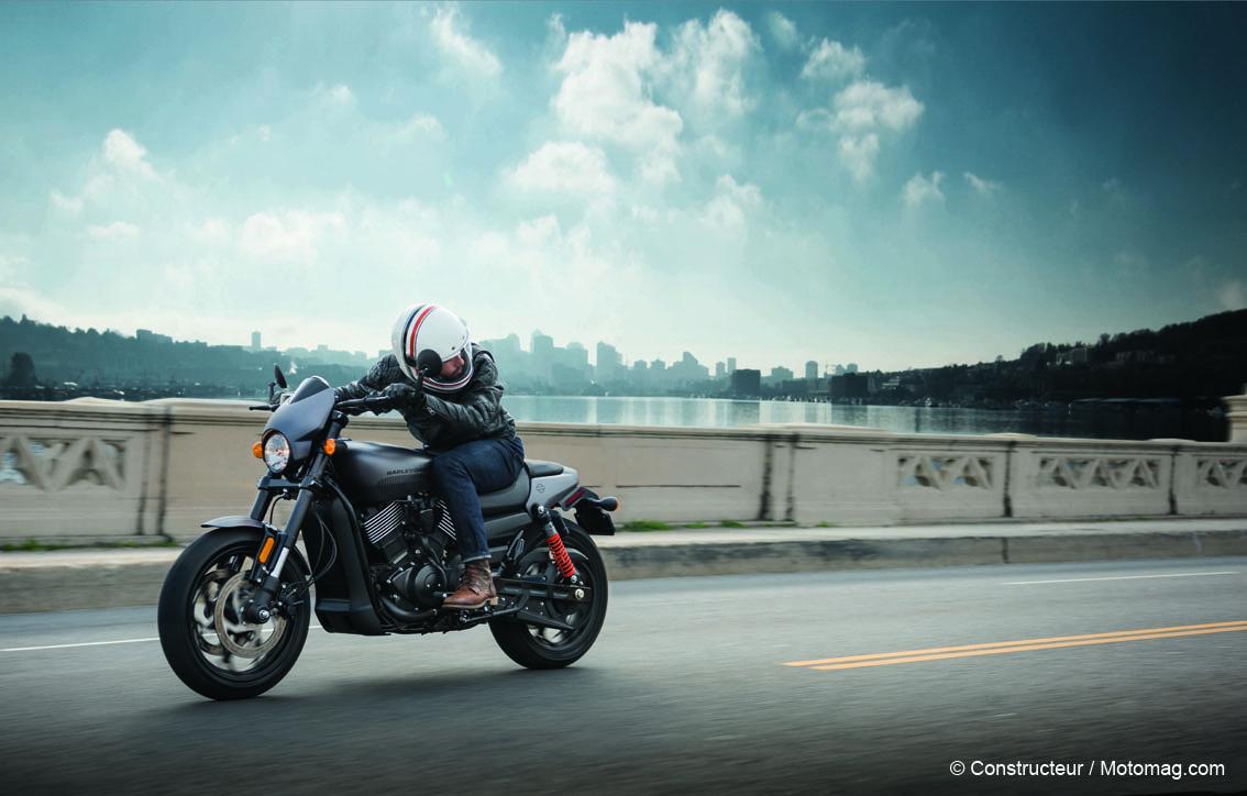Harley-Davidson 750 Street Rod : regain de caractère