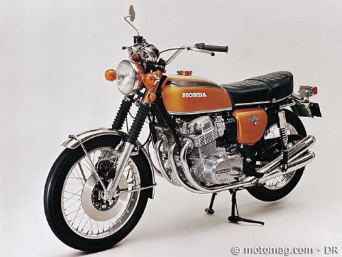 honda cb 750 four 1969 moto magazine leader de l. Black Bedroom Furniture Sets. Home Design Ideas