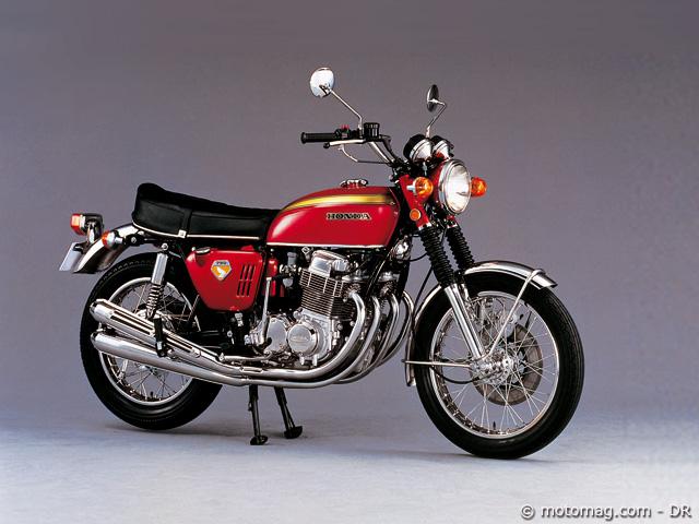 honda cb 750 four 1969 moto magazine leader de l actualit de la moto et du motard. Black Bedroom Furniture Sets. Home Design Ideas