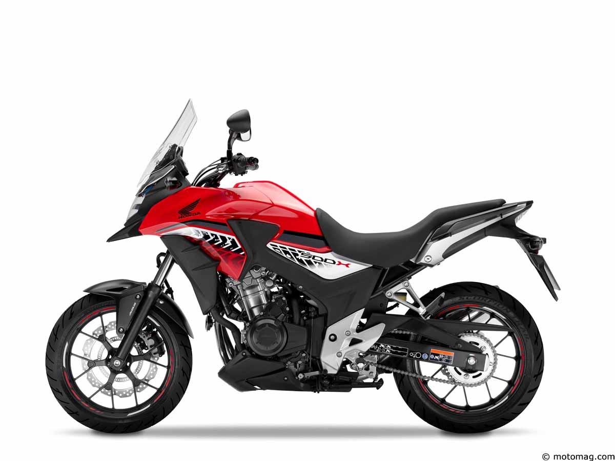 nouveaut s moto 2016 honda cb 500 x et cb 500 f moto. Black Bedroom Furniture Sets. Home Design Ideas