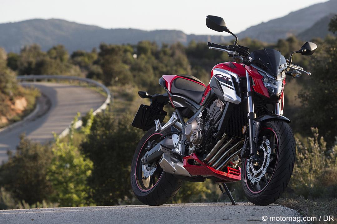 honda cb 650 f la belle affaire moto magazine leader de l actualit de la moto et du motard. Black Bedroom Furniture Sets. Home Design Ideas