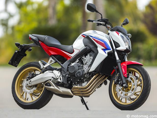honda cb 650 f un roadster pos moto magazine leader de l actualit de la moto et du motard. Black Bedroom Furniture Sets. Home Design Ideas