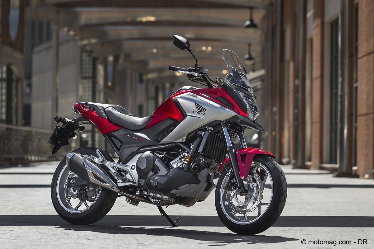 honda nc 750 x conomatisme moto magazine leader de l actualit de la moto et du motard. Black Bedroom Furniture Sets. Home Design Ideas