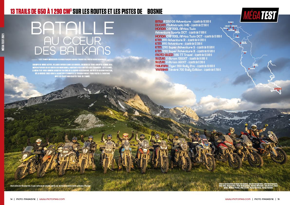 Motomag Spécial Trail, le nouveau hors-série de l'été 2021 !