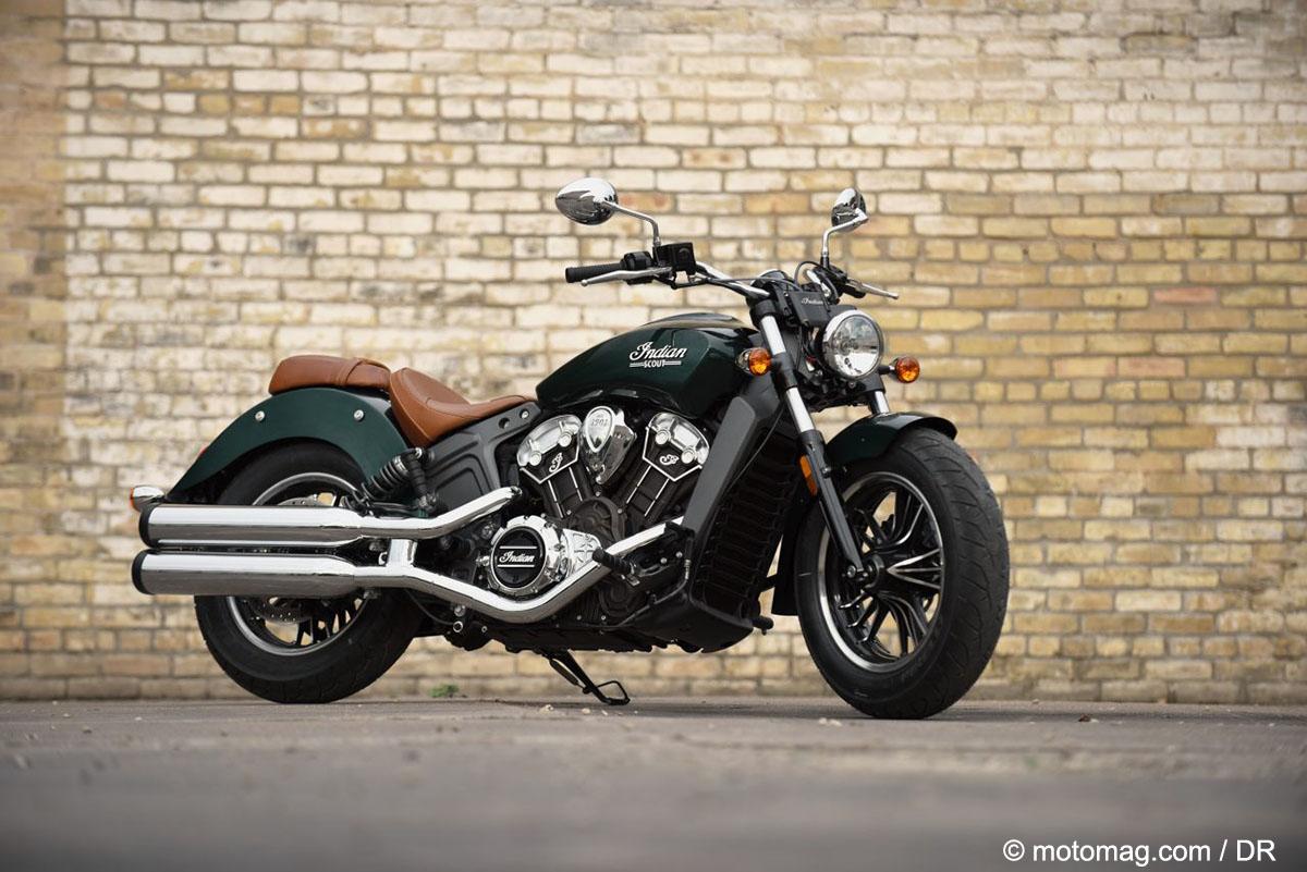 indian annonce ses nouveaut s 2018 moto magazine leader de l actualit de la moto et du motard. Black Bedroom Furniture Sets. Home Design Ideas