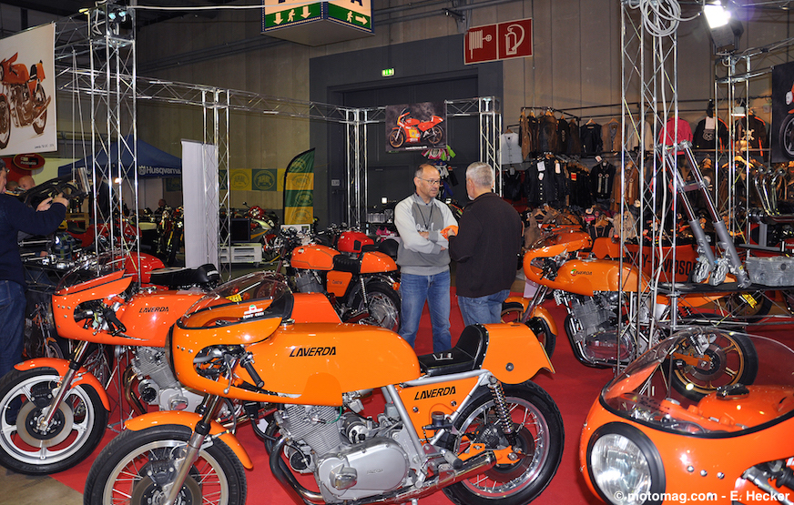 International Motor show : stand Moto Officina