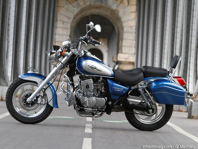 jinlun 125 highlander moto magazine leader de l actualit de la moto et du motard. Black Bedroom Furniture Sets. Home Design Ideas