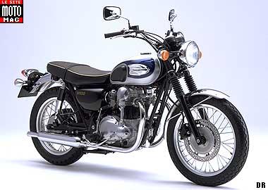 Bonneville And Son >> Kawasaki 650 W - Moto Magazine - leader de l'actualité de
