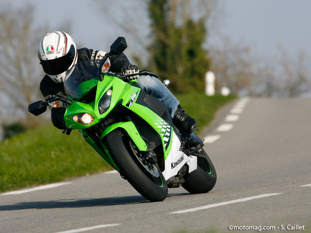 Kawasaki ZX-10R : le confort, son point fort