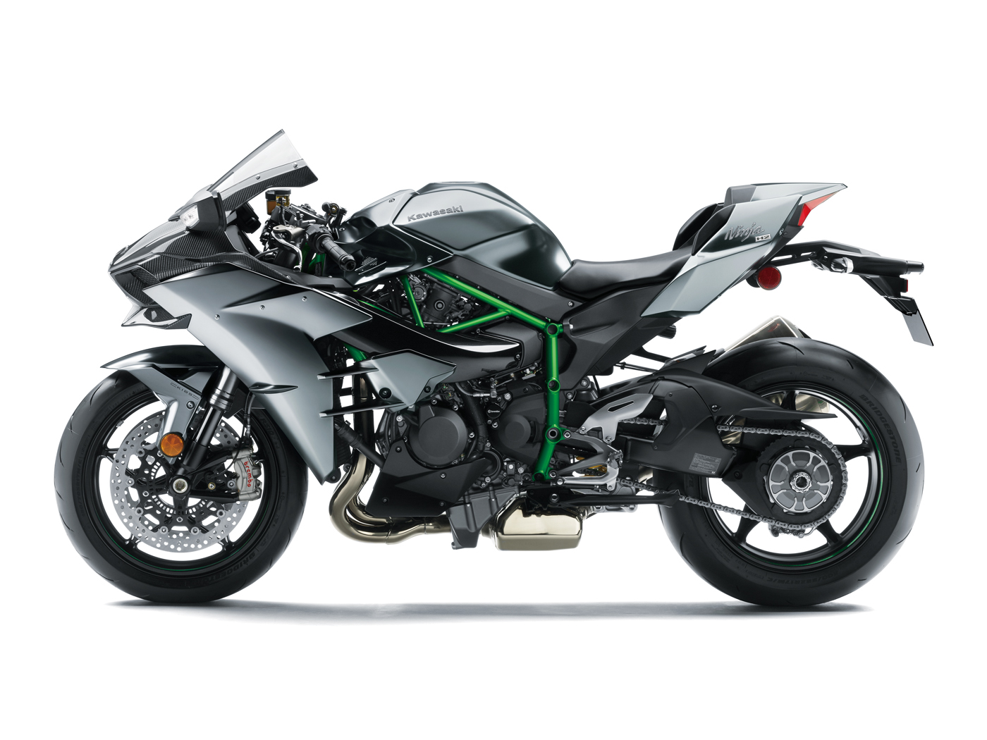 moto kawasaki gamme 2017