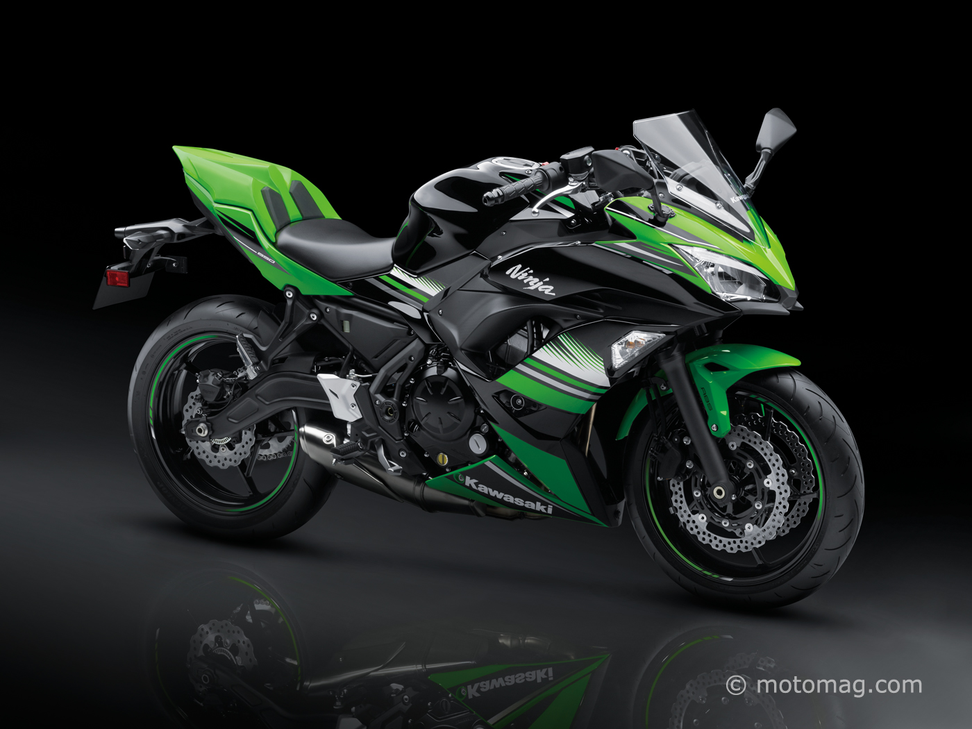 Nouveauté Kawasaki 2017 : La Séduisante Ninja 650
