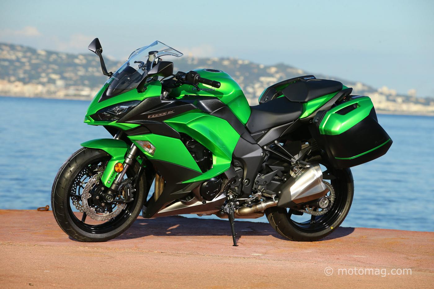 Kawasaki Z 1000 SX 2017 : Tourisme Décomplexé