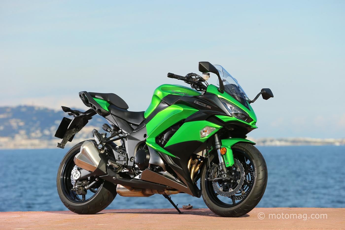 Kawasaki Z 1000 Sx 2017 Tourisme D 233 Complex 233 Moto