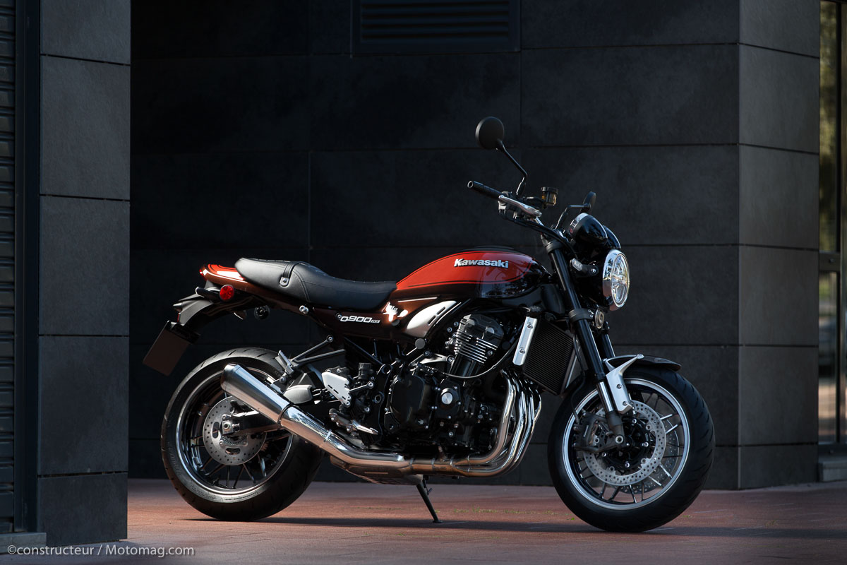 Essai Kawasaki Z 900 Rs Plus Z 233 L 233 Gante Vid 233 O Moto