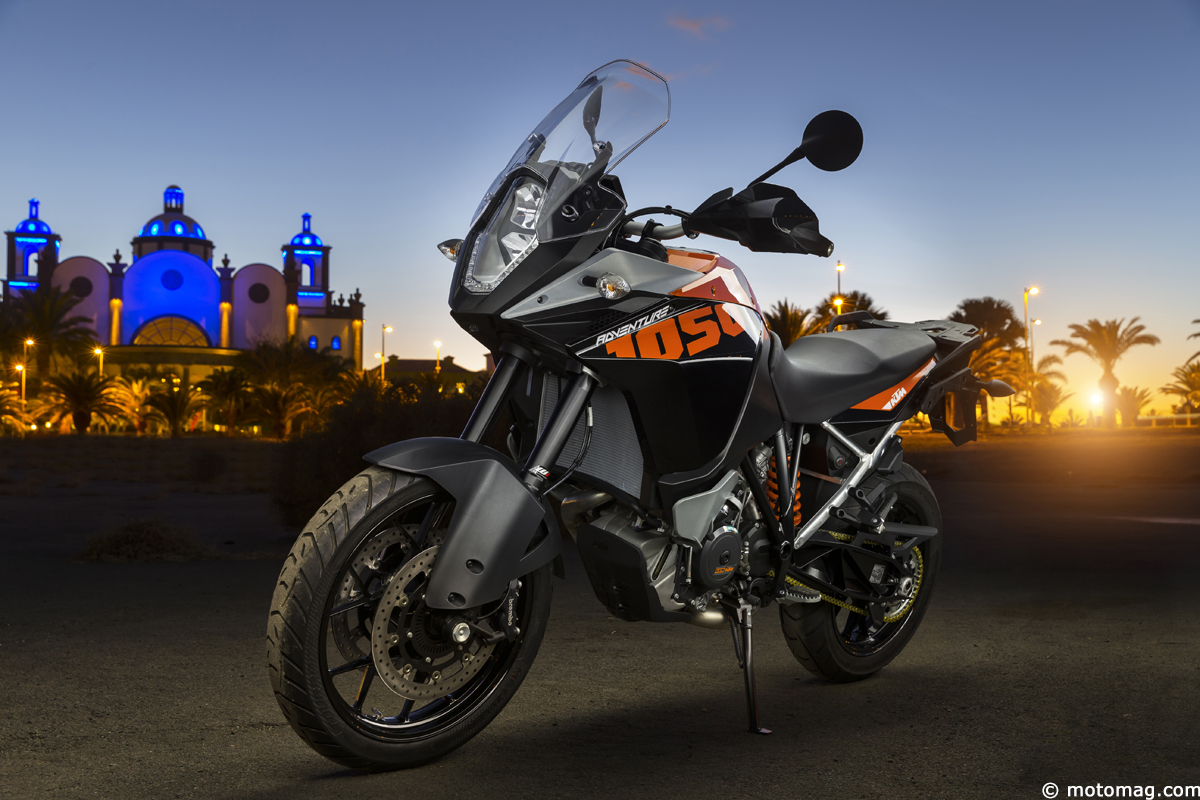 KTM 1050 Adventure : flatteuse