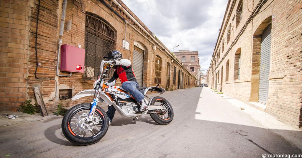 Ktm Freeride E Sm >> KTM Freeride E-SM : électrostimulation - Moto Magazine - leader de l'actualité de la moto et du ...