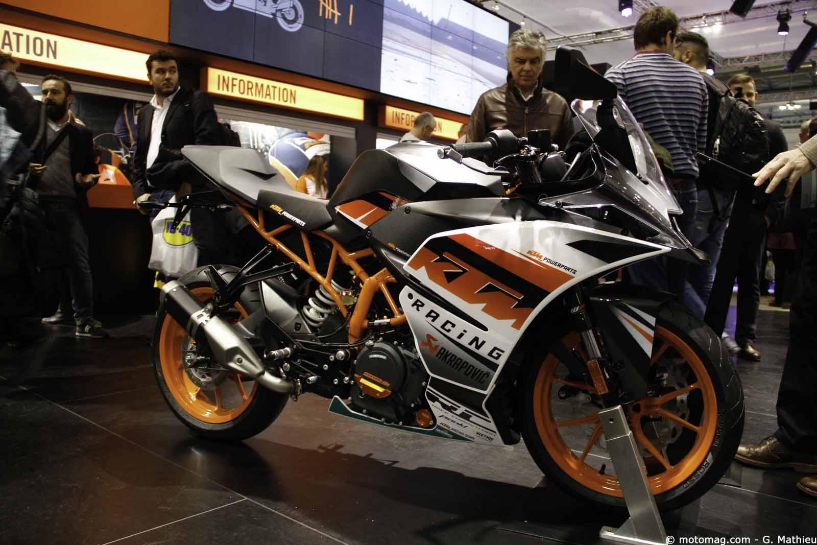 nouveaut moto 2016 ktm rc 390 moto magazine leader de l actualit de la moto et du motard. Black Bedroom Furniture Sets. Home Design Ideas