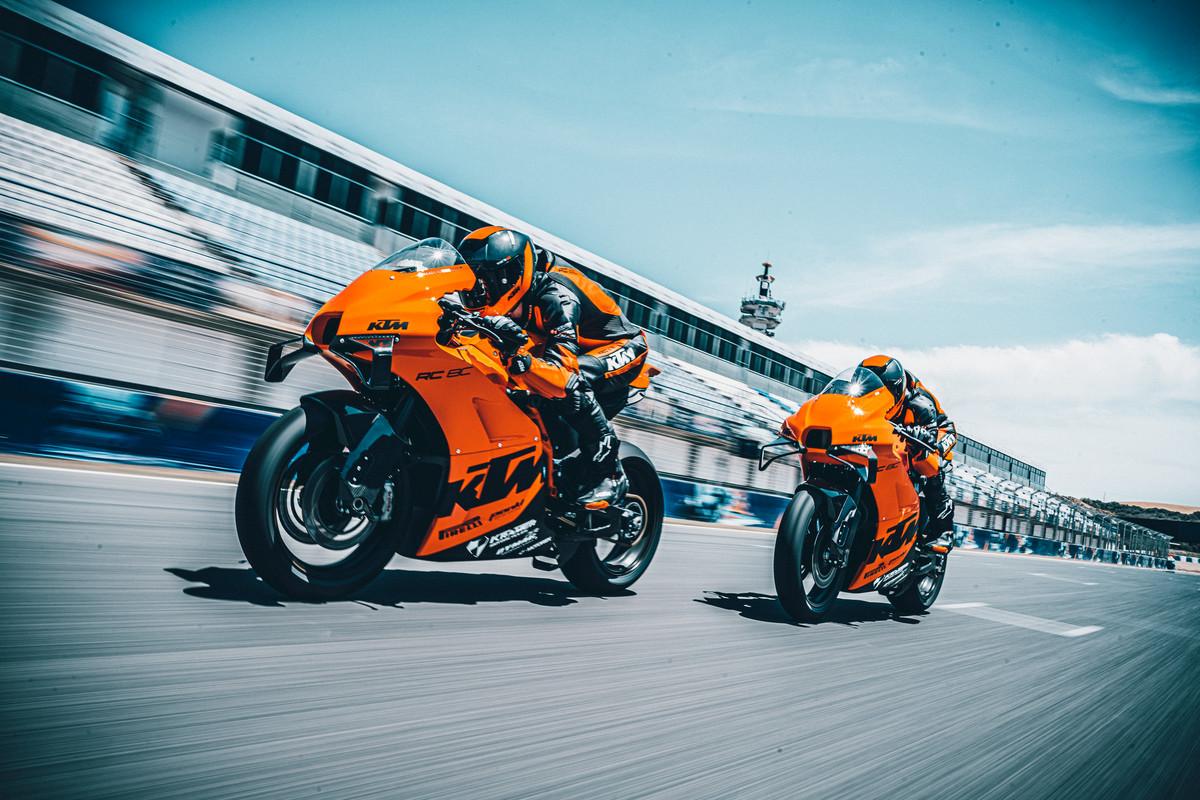 KTM RC 8C, la Moto2 pour tous