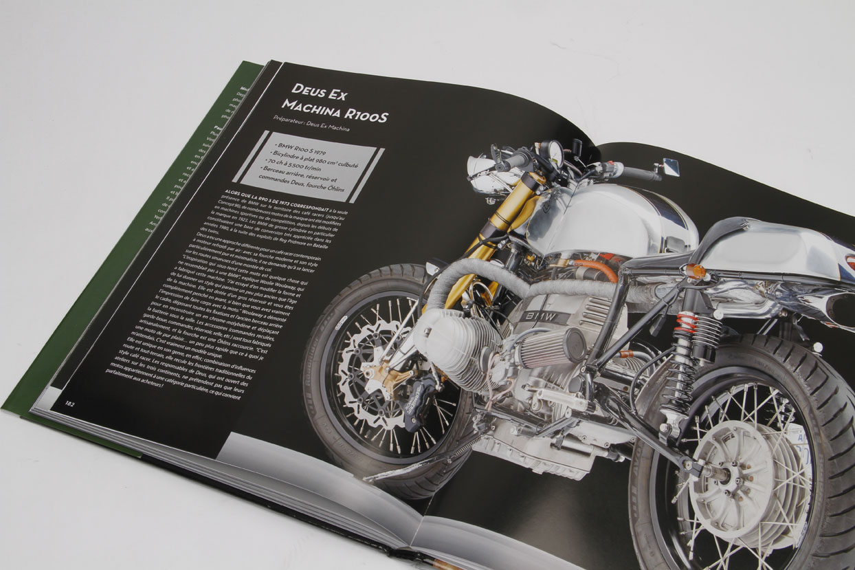Livre Cafe Racer Style Et Rock And Roll