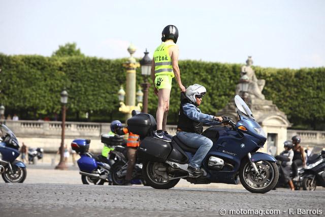 Securite Routiere Le Discret Retour Du Gilet Jaune Moto Magazine