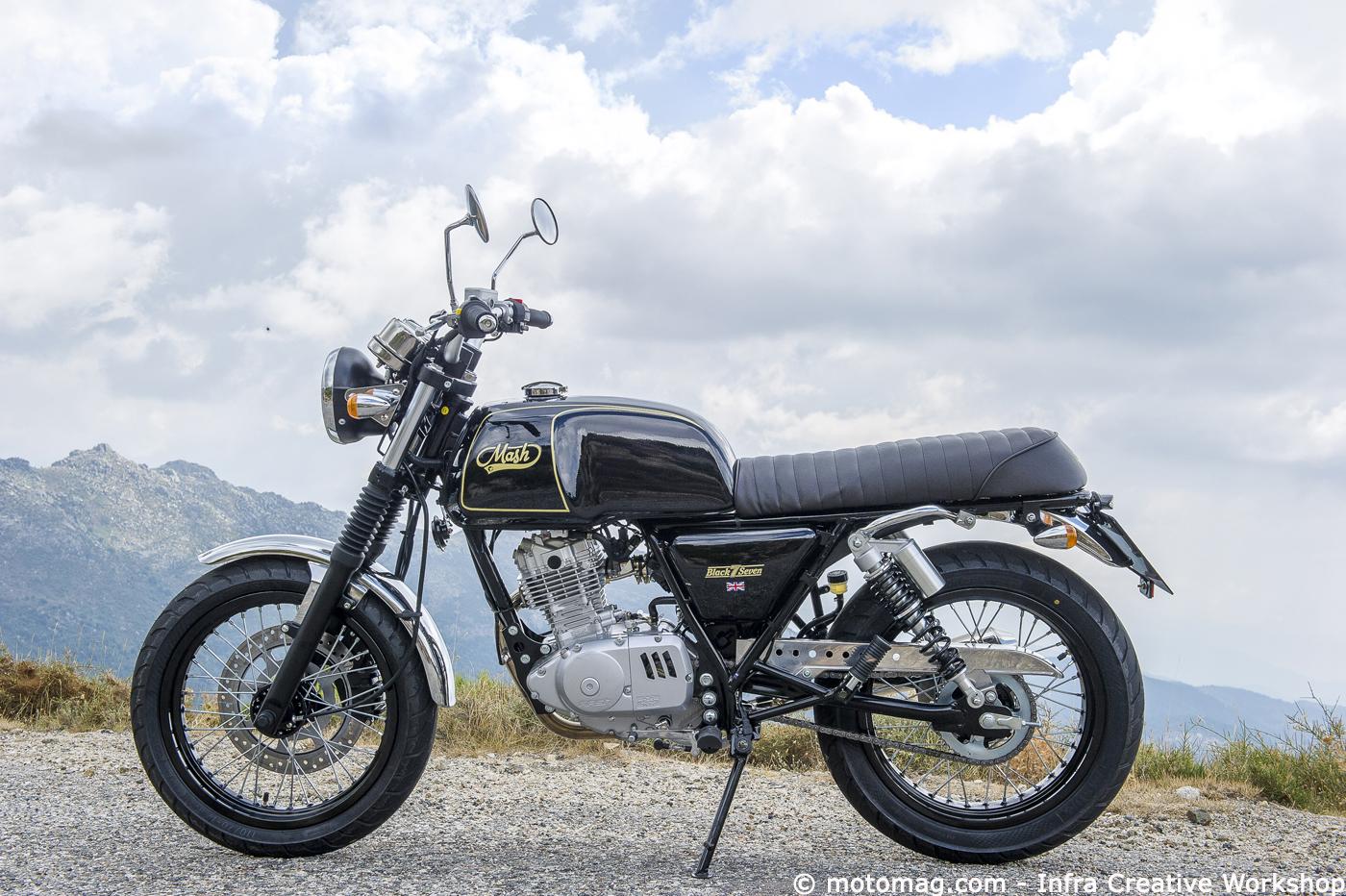 mash 125 black seven le set gagnant moto magazine leader de l actualit de la moto et du. Black Bedroom Furniture Sets. Home Design Ideas