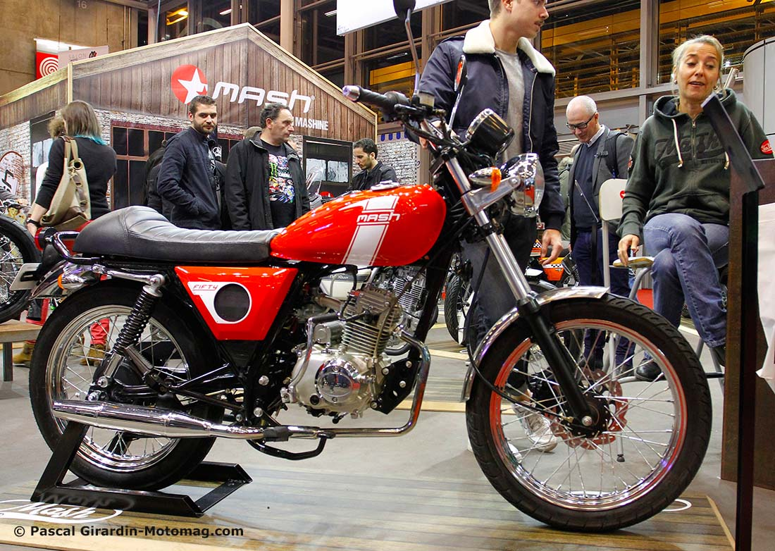Salon de la moto de Paris 2015 : Mash 50 Fifty