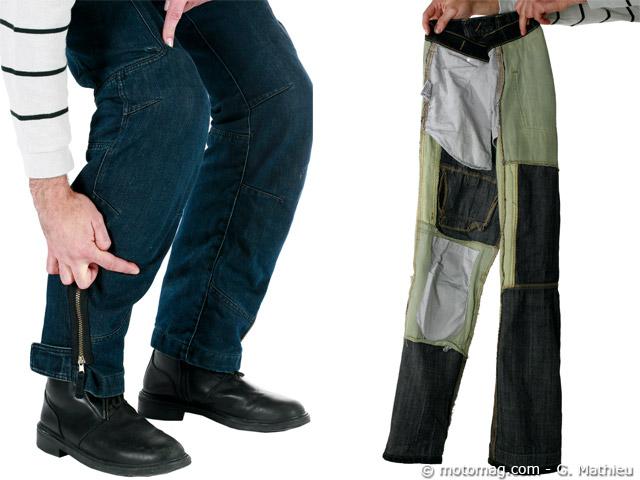 test pantalon moto ete. Black Bedroom Furniture Sets. Home Design Ideas