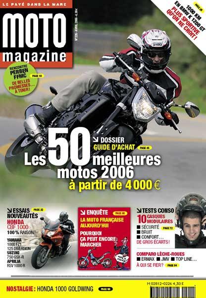 moto magazine n 226 moto magazine leader de l actualit de la moto et du motard. Black Bedroom Furniture Sets. Home Design Ideas