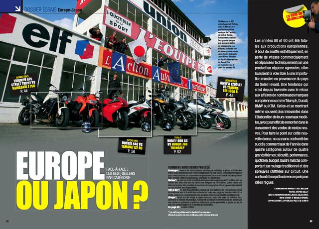 moto magazine n 253 d cembre 2008 janvier 2009 moto magazine leader de l actualit de la. Black Bedroom Furniture Sets. Home Design Ideas