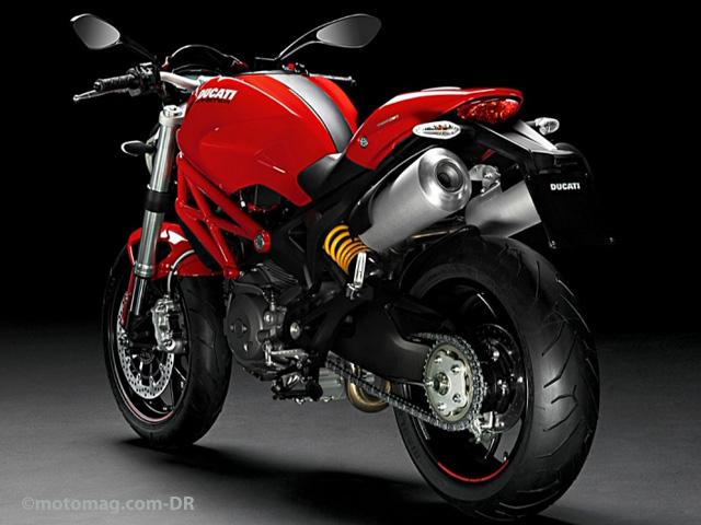 ducati 796 monster moto magazine leader de l actualit de la moto et du motard. Black Bedroom Furniture Sets. Home Design Ideas