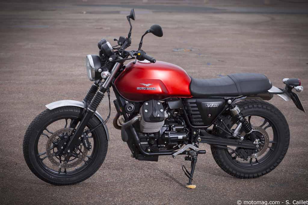 moto guzzi v7 ii style scrambler fausse modeste moto magazine leader de l actualit de la. Black Bedroom Furniture Sets. Home Design Ideas