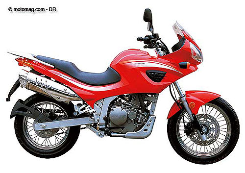 Conduire moto chine