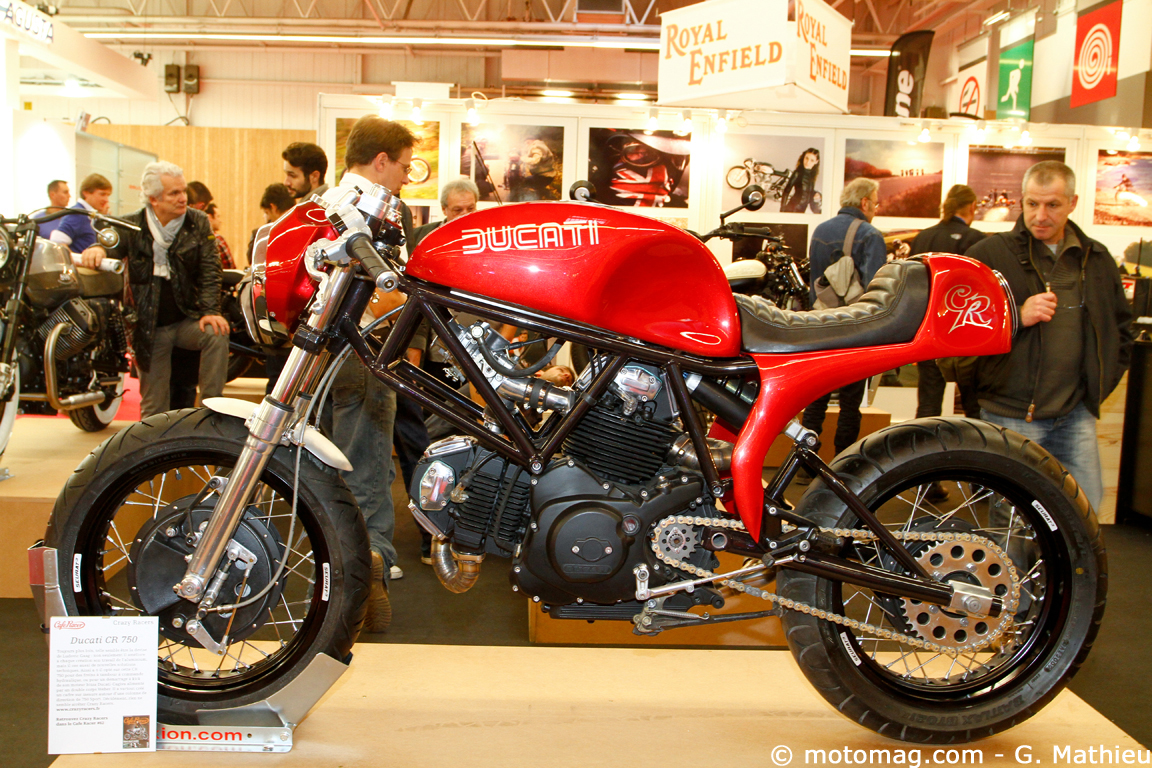 Salon de Paris 2013 : Ducati CR750
