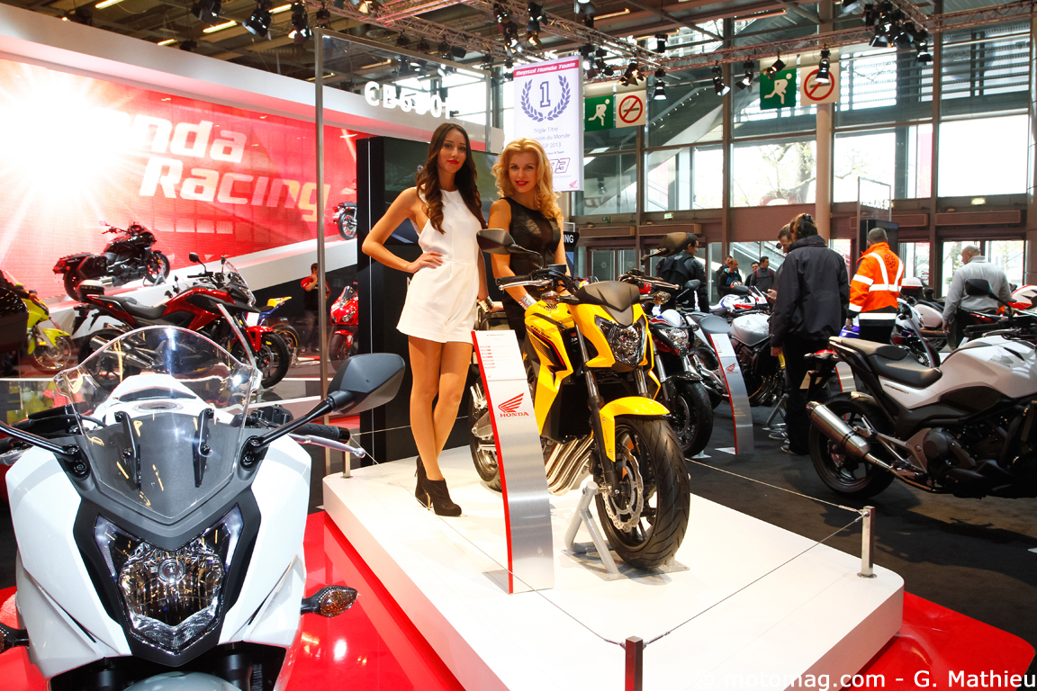 Salon de Paris 2013 : Honda tout sourires