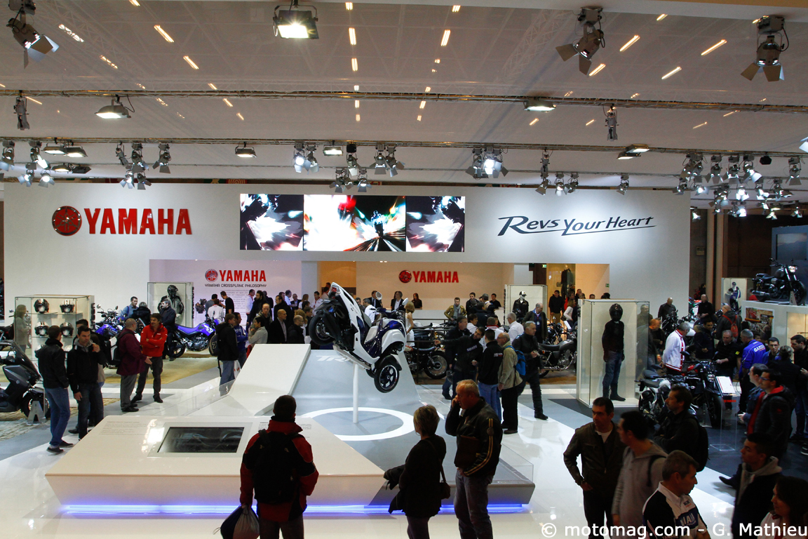 Salon de Paris 2013 : tricycle urbain chez Yamaha
