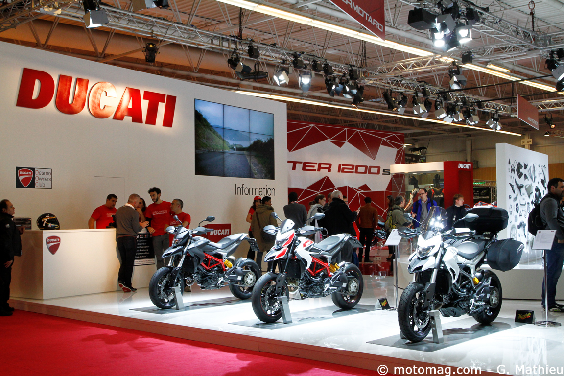 Salon de Paris 2013 : Ducati Hyperstrada