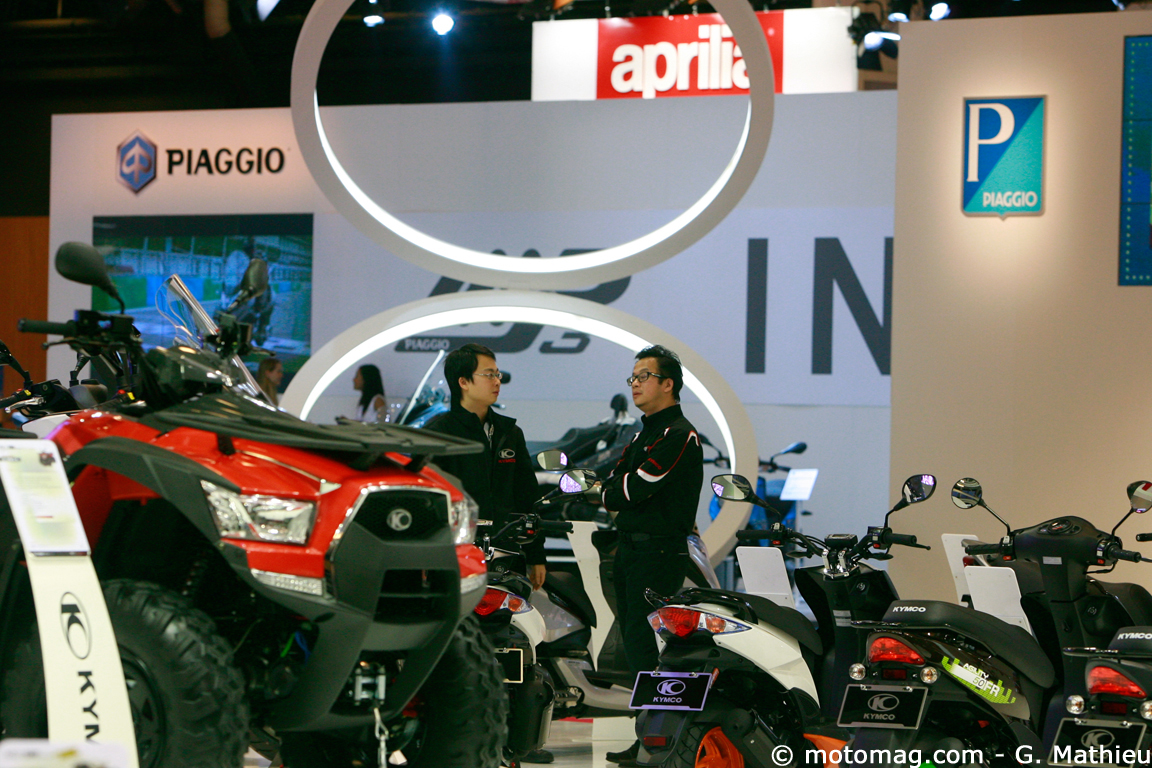 Salon de Paris 2013 : Kymco