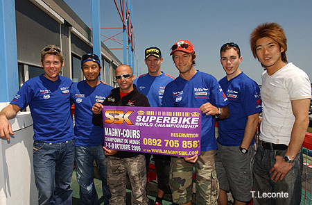 Superbike Mondial : people