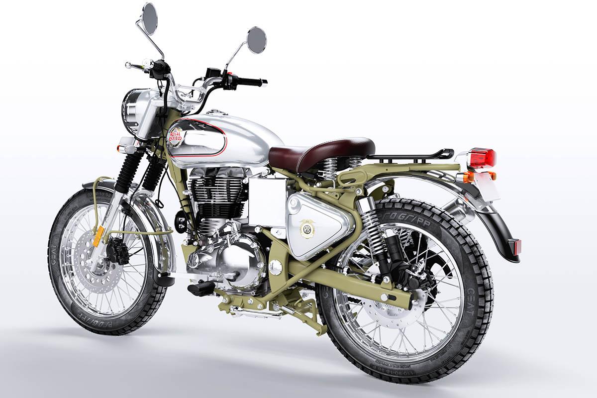 Après l'Himalayan, voilà la Royal Enfield Bullet Trial (   ) - Moto
