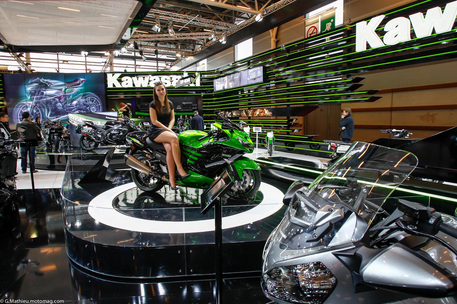 Salon de la moto de paris le plein d 39 images moto for Salon photo paris