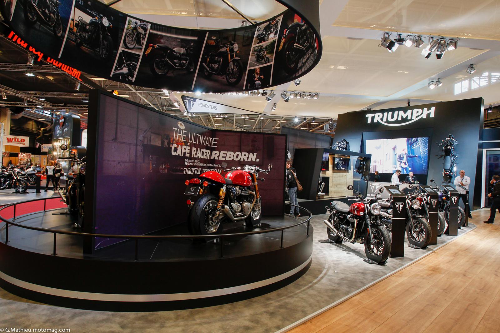 Salon de la moto de paris le plein d 39 images moto for Salon 2016 paris