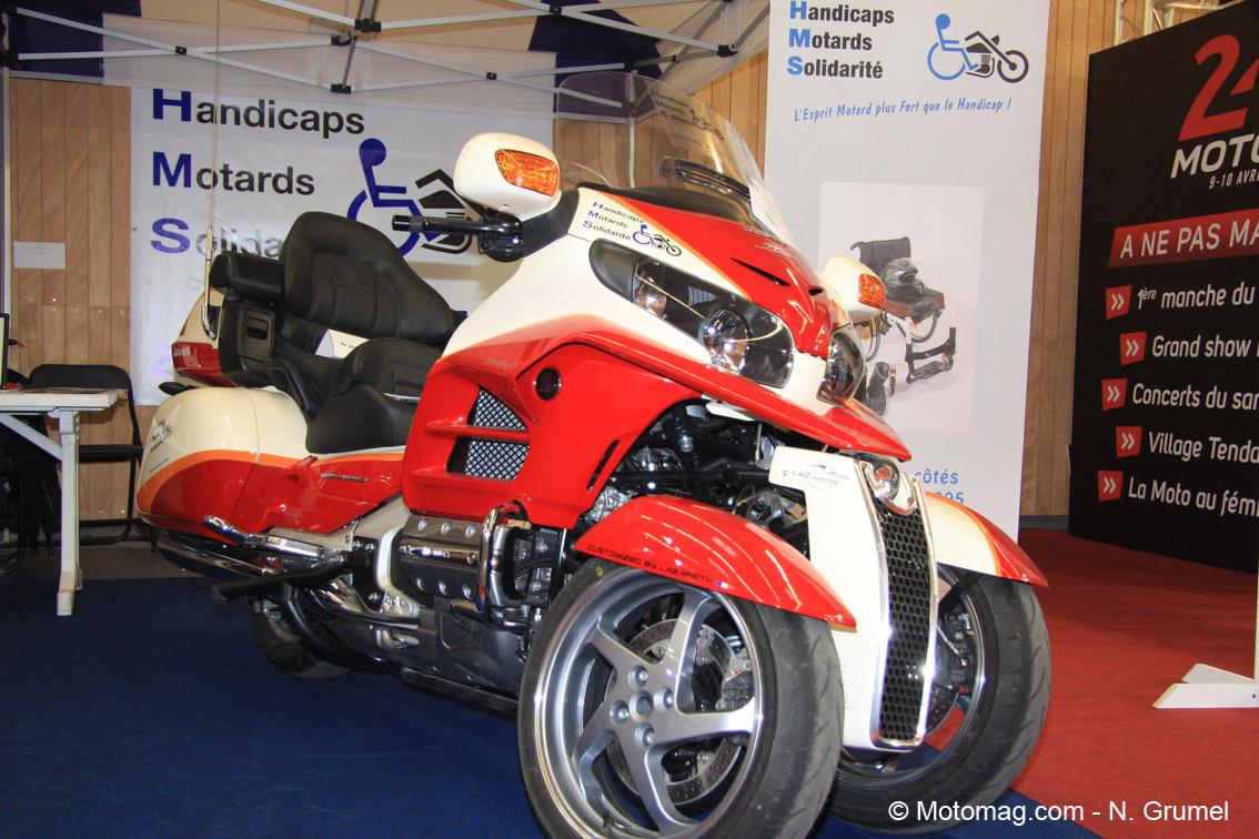 Salon moto de paris la honda goldwing 3 roues comme un for Salon moto paris 2017