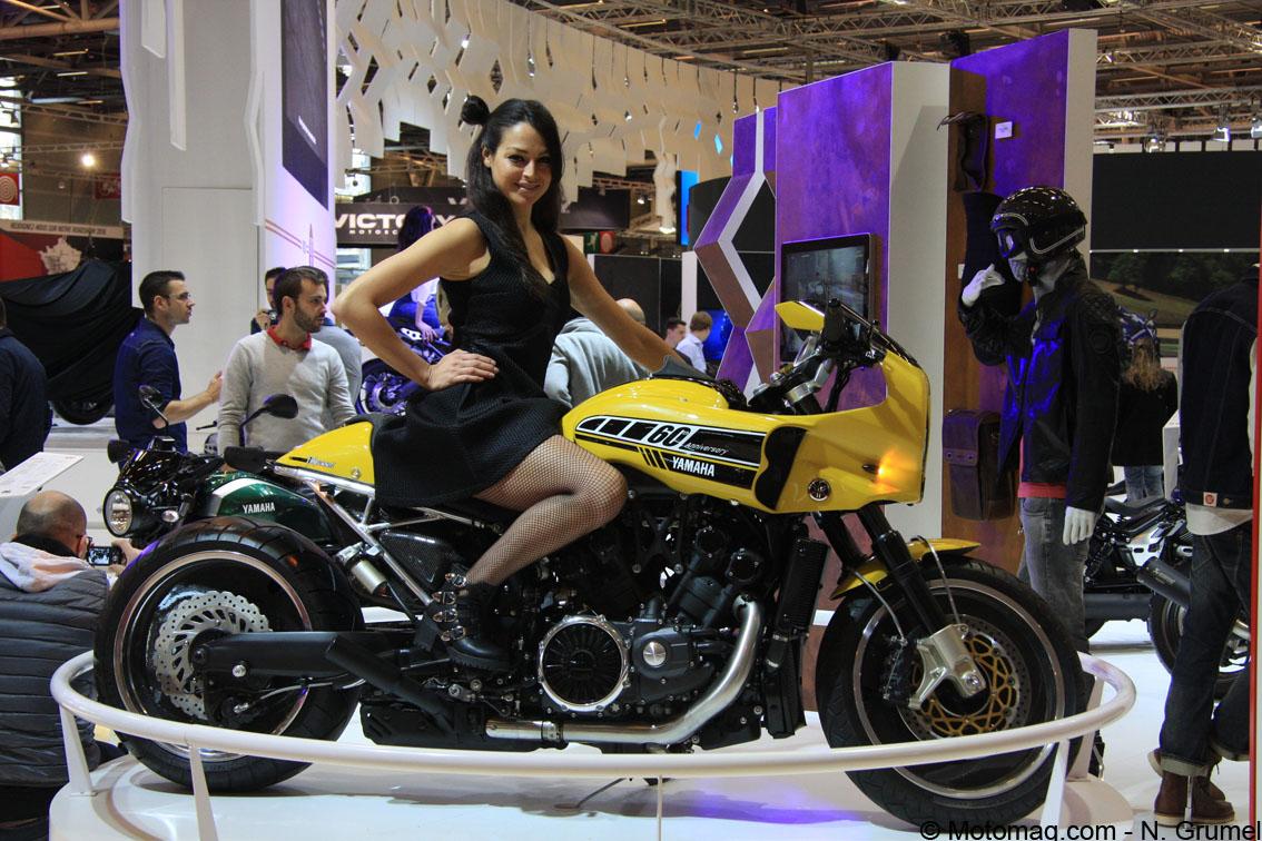 pr paration moto yamaha relance le concours yard built en moto magazine leader de l. Black Bedroom Furniture Sets. Home Design Ideas