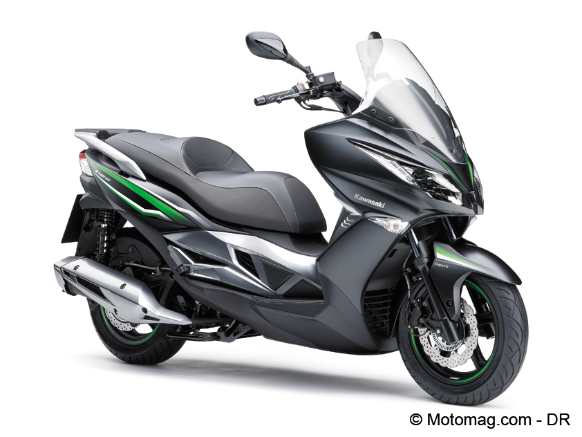 Scooter Kawasaki J125 en coloris SE