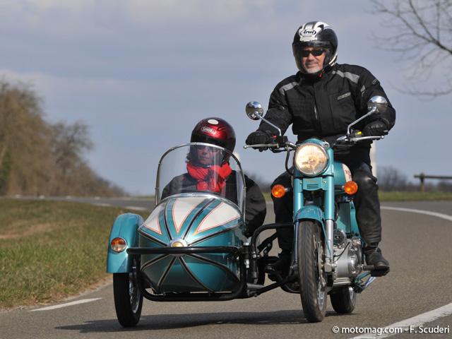royal enfield 500 classic watsonian grand prix moto magazine leader de l actualit de la. Black Bedroom Furniture Sets. Home Design Ideas