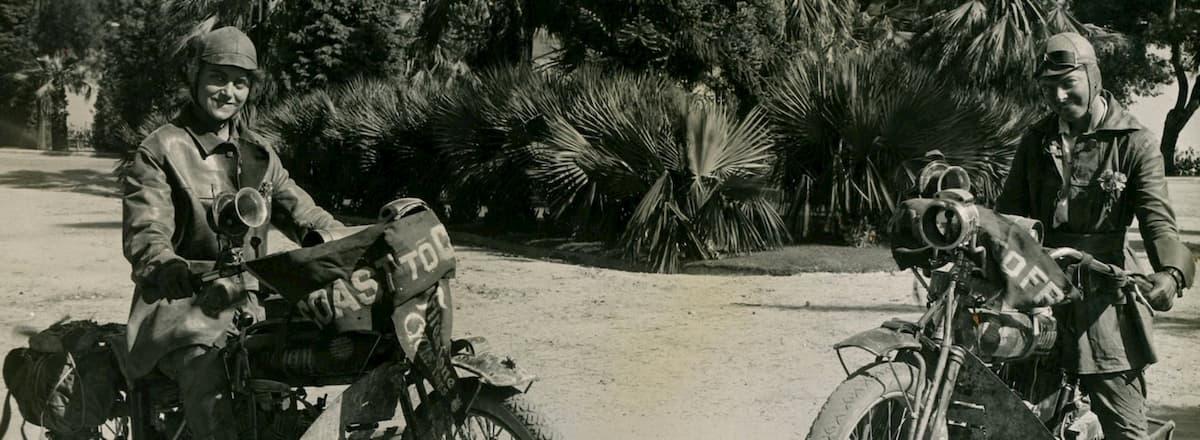 En 1916, la première traversée féminine à moto des USA Soeurs-van-buren-traversee-usa-1916_04